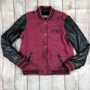 Pink by Victoria Secret Varsity Letterman Jacket
